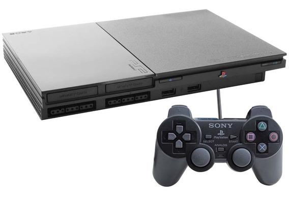 Playstation 2 Preto Bloqueado