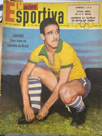 Revista Manchete Esportiva 1ª Edição - 08 Unidades