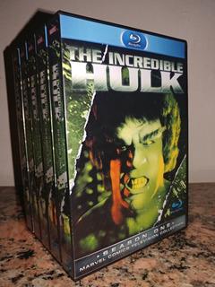 Blu-ray El Increible Hulk Las 5 Temporadas 1977-1982 Latino