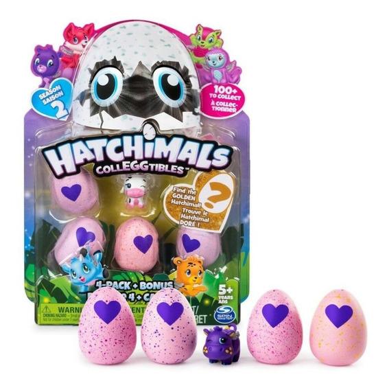 Hatchimals Colleggtibles Temporada 2 4 Pack + Bonus Oferta