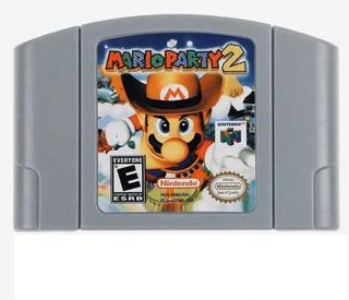 Mario Party 2 N64 Nintendo 64 Repro