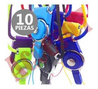 10 Correas Para El Cuello Para Memoria Usb De Colores Surtidos Desenganchable Brobotix 170184