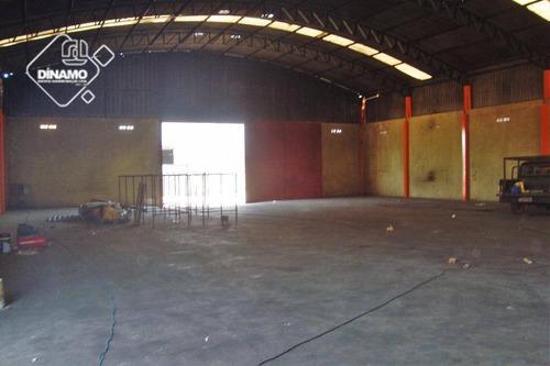 Salão  Comercial Para Locação, Parque Industrial Tanquinho, Ribeirão Preto. - Sl0174