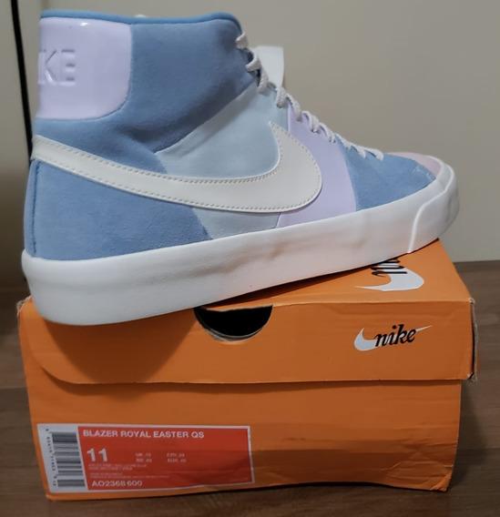 Tênis Nike Blazer Royal Easter Qs