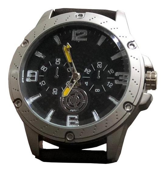 Relógio Masculino Cinza Original Orizom