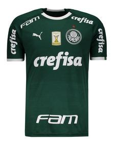 Camisa Puma Palmeiras I 2019 Com Patch