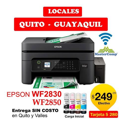 Impresora Epson Wf2830 Wf2850 Con Wifi-duplex-mejor Q L3150