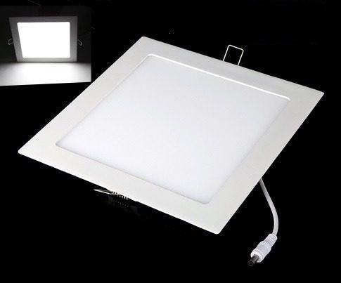 Kit 24 Plafons Embutir Led Ultra Slim 25w Branco Frio
