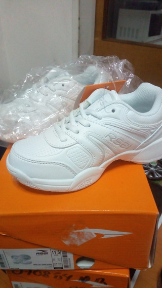 Zapato Deportivo Colegial Blanco Rs21 Talla 27 (20v)