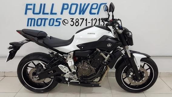 Yamaha Mt 07 Branca 2016