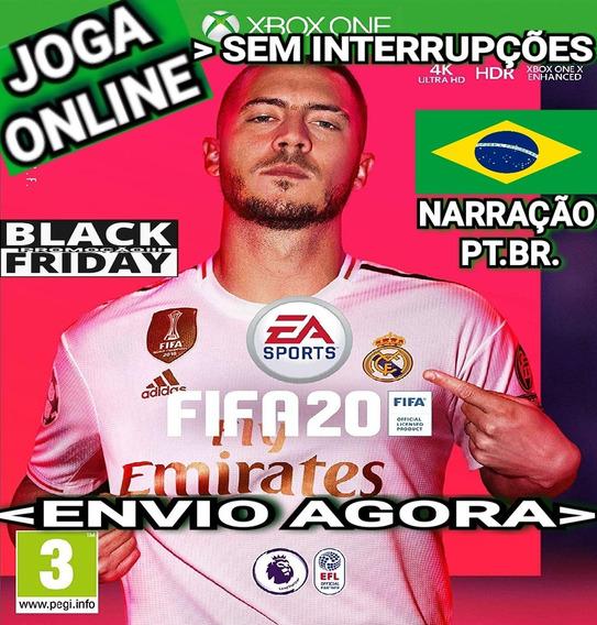 Fifa20 Fifa 20 Xbox One Joga Online Original Narração Br