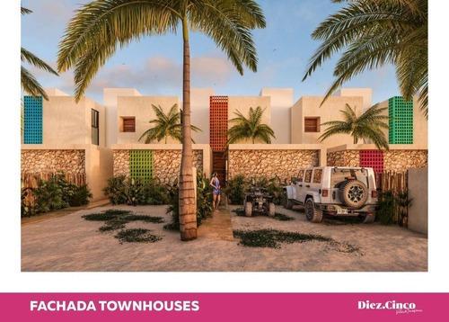 Preciosas Villas Y Townhouses En La Playa, Complejo Con Amenidades