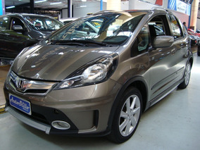 Honda Fit Twist 1.5 Flex 2013 Cinza (completo)