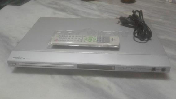 Dvd - Dvp-801 - Stéreo-video Composto-ent. Vga E Etc...