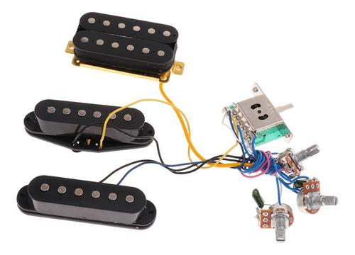 Imagen 1 de 4 de Cableado Premezclado De Guitarra 6 Cuerdas Montura De