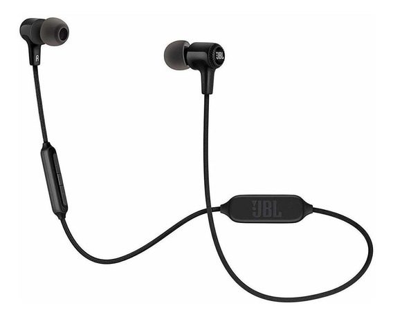 Fone de ouvido sem fio JBL E25BT preto