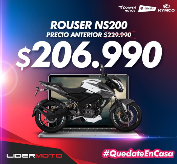 Bajaj Rouser Ns 200 Ns - Lidermoto La Plata