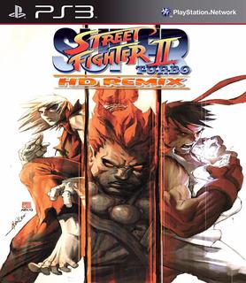 Street Fighter Ii Turbo Hd Remix Ps3 Digital Gcp
