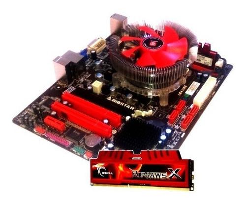 Kit Intel Biostar + Core I3 4 Núcleos + 4gb Gskill Ddr3