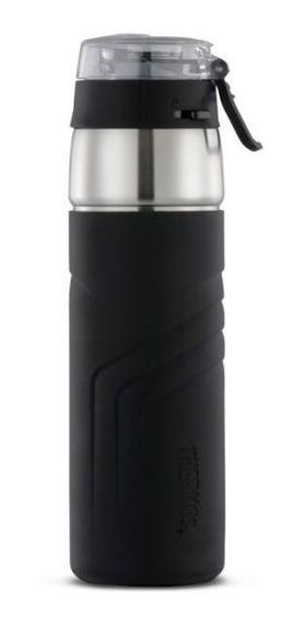 Botella Térmica Hidratación 590ml Ss Negra Thermos