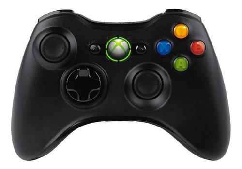 Imagen 1 de 2 de Control joystick inalámbrico Microsoft Xbox Mando inalámbrico Xbox 360 black