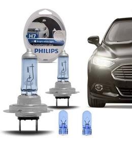 Lampada H7 Philips 4300k Cristal Vision + Pingo T10 Crystal