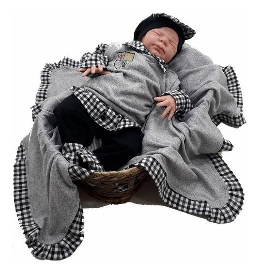Saída De Maternidade Pulover Em Malha Trico Para O Inverno