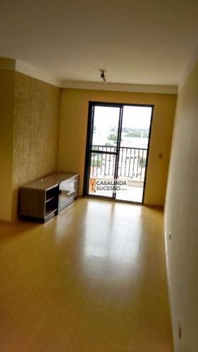 Imagem 1 de 21 de Apartamento Com 3 Dormitórios À Venda, 78 M² - Tatuapé - São Paulo/sp - Ap4579