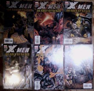 X Men Deadly Genesis # 1 A 6 Ingles