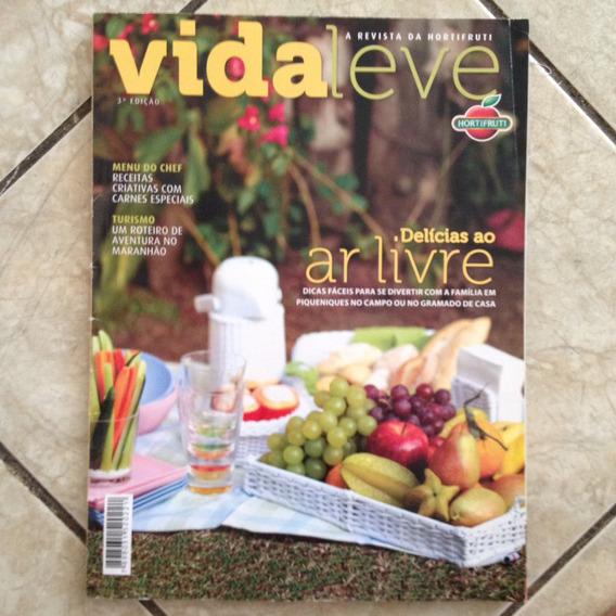 Revista Vida Leve 3ª Edição Delicias Ao Ar Livre - Maranhão