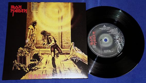 Iron Maiden - Running Free - 7 Single - 1980 - Uk