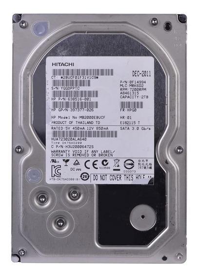 Disco rígido interno Hitachi Ultrastar 7K3000 HUA723020ALA640 2TB