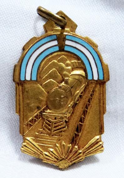 Medalla Peron Cumple Ferrocarriles Ya Son Argentinos 1948