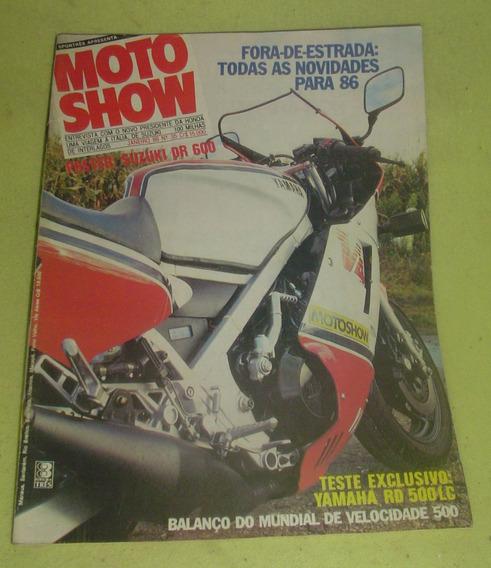 Revista Moto Show Nº 35 - Janeiro 1986. - Frete Grátis