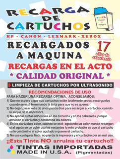 Compra Cartuchos Hp Vacios 21 22 27 56 60 74 96 122 662 664