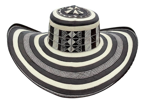 Imagen 1 de 6 de Sombrero Vueltiao 31  Vueltas Original Mas Fino De Colombia