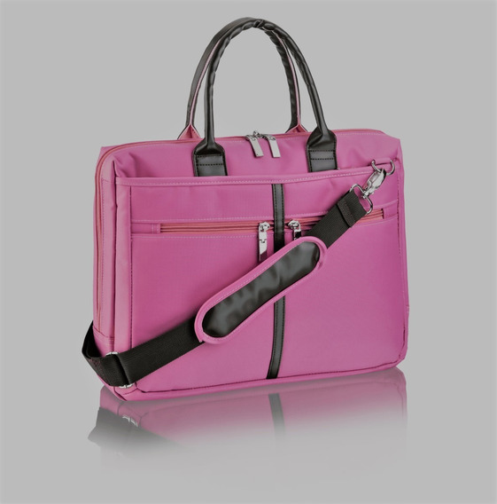 Bolsa Feminina Notebook Até 14 Rosa Multilaser Promoção!!!
