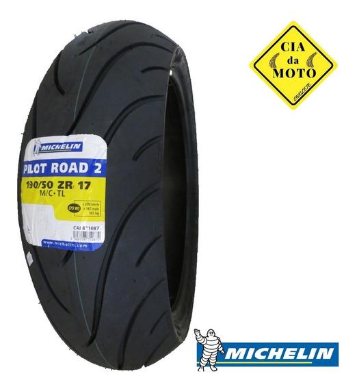 Pneu Traseiro190/50-17 Michelin Pilot Road 2 Moto Promoção