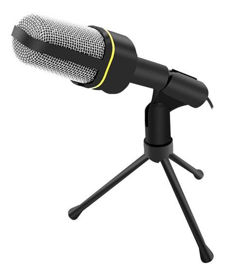 Profissional De 3,5 Mm Com Fio De Microfone De Condensador