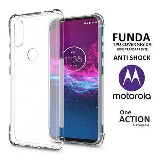 Funda Tpu Cover Anti Shock Motorola Moto One Action Rosario
