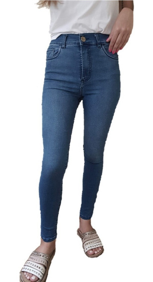 Jeans Mujer Sisa Mar Chupin Tiro Alto
