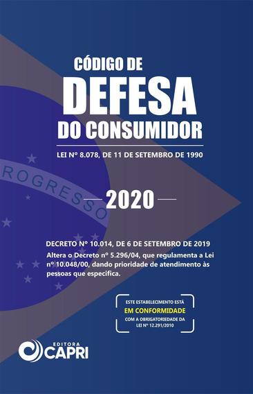 Livro Código De Defesa Do Consumidor 2020 Versão Bolso