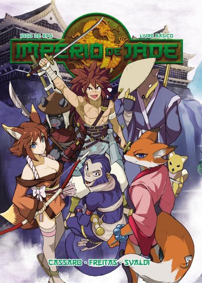 Império De Jade - Jogo De Rpg - Livro Básico