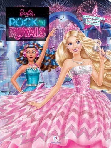 Livro Quebra - Cabeças Barbie Rock