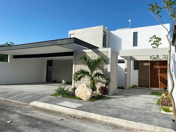 Casa Nueva En Venta En Dzitya, Modelo Natura, Mérida Norte