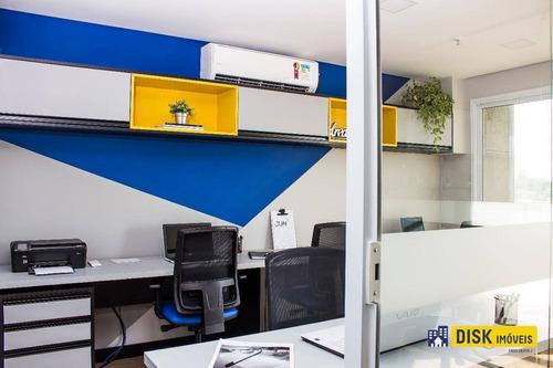 Sala Para Alugar, 40 M² Por R$ 3.200,00/mês - Jardim Do Mar - São Bernardo Do Campo/sp - Sa0082