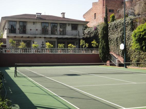 Magnífica Residencia En Bques De Las Lomas C/cancha Tennis