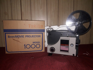 Proyector Antiguo 8mm Takita