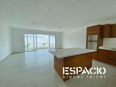 Lomas Del Mar, Deptos 140m2 /3rec/2wc, Elevador, Sky Pool, Vista A La Bahía