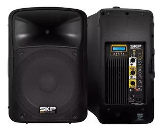 Bafle Amplificado Skp Pro Sk 3p 500w Sd Usb Ecualizador P